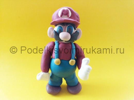 Марио из пластилина.