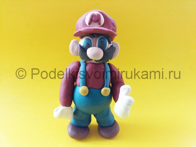 Лепка Марио из пластилина - фото 13.