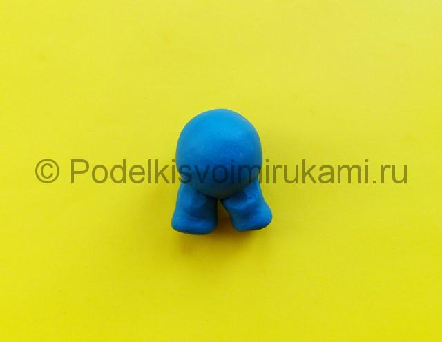 Лепка Марио из пластилина - фото 2.