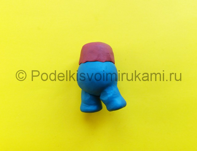 Лепка Марио из пластилина - фото 3.