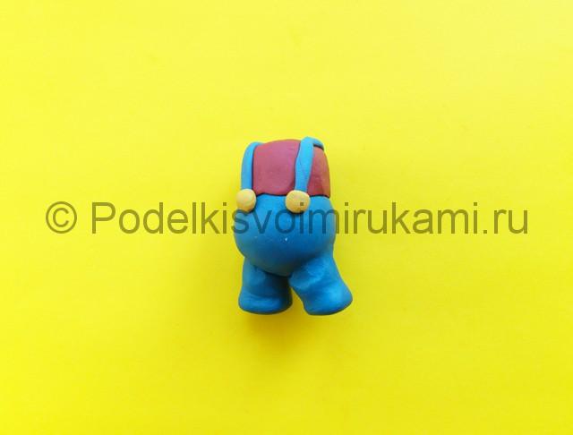 Лепка Марио из пластилина - фото 4.