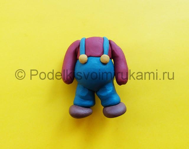 Лепка Марио из пластилина - фото 5.