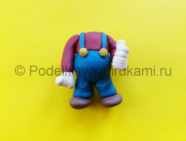 Лепка Марио из пластилина - фото 6.