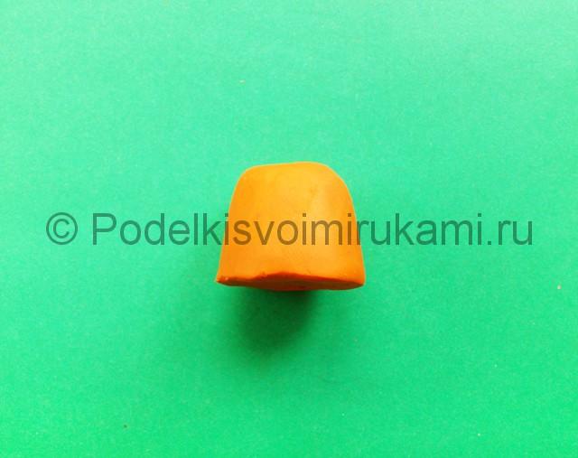 Лепка каравая из пластилина - фото 2.