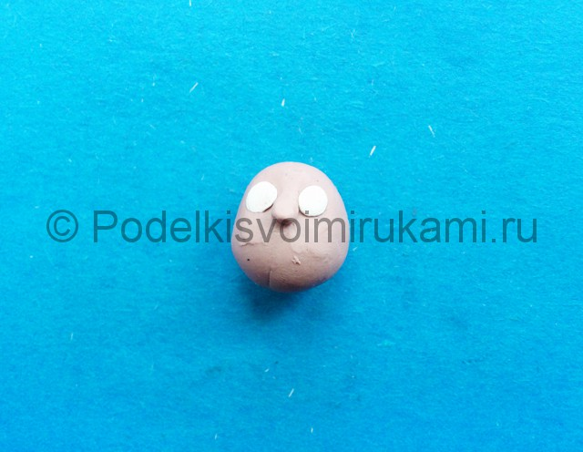 Лепка Красной Шапочки из пластилина - фото 2.