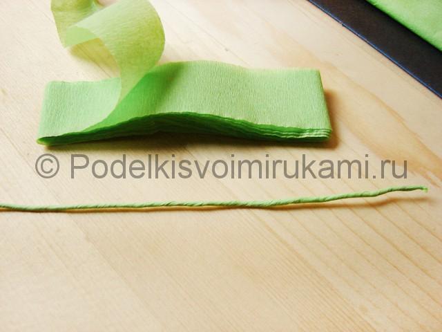Поделка маков из бумаги - фото 4.