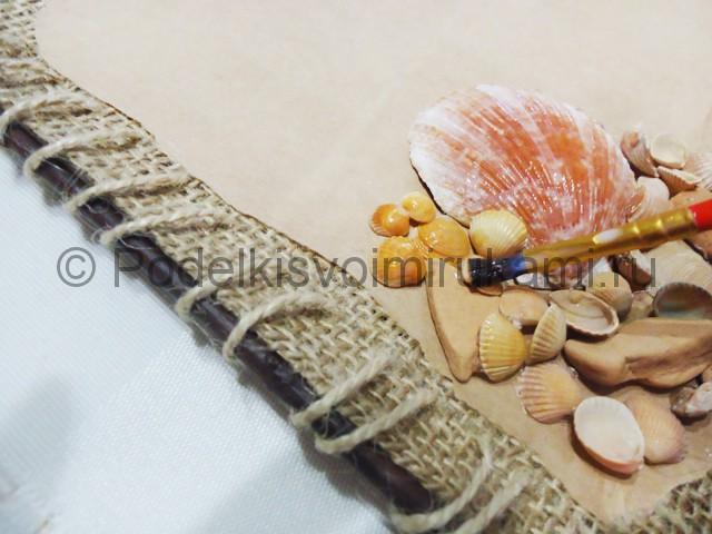 Изготовление морского панно «Дыхание моря» - фото 10.