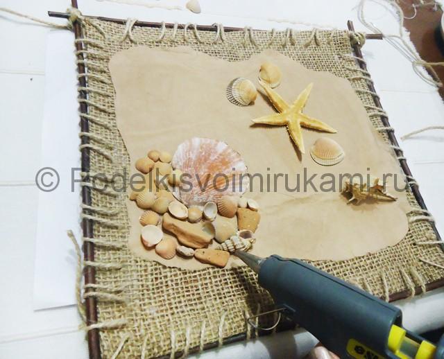 Изготовление морского панно «Дыхание моря» - фото 9.