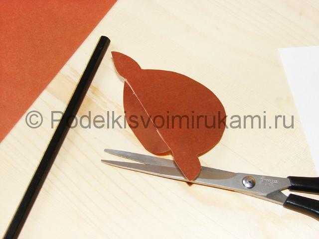 Поделка оленя из бумаги - фото 10.