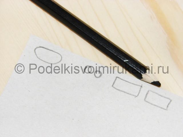 Поделка оленя из бумаги - фото 11.
