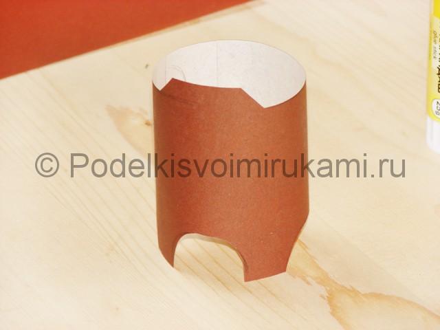 Поделка оленя из бумаги - фото 6.