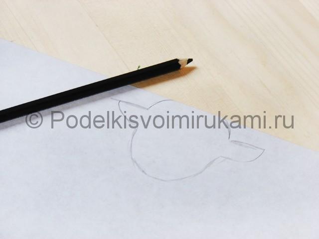 Поделка оленя из бумаги - фото 7.