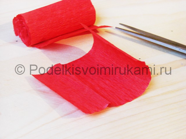 Изготовление кактуса из бумаги - фото 10.
