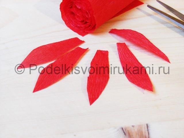 Изготовление кактуса из бумаги - фото 11.