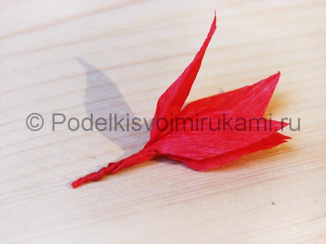 Изготовление кактуса из бумаги - фото 16.