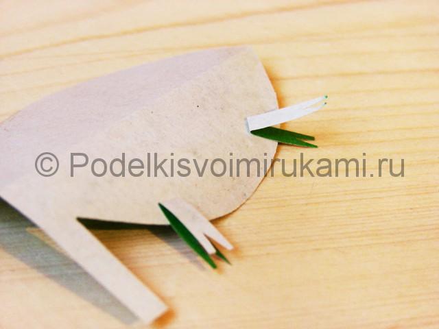 Изготовление кактуса из бумаги - фото 17.