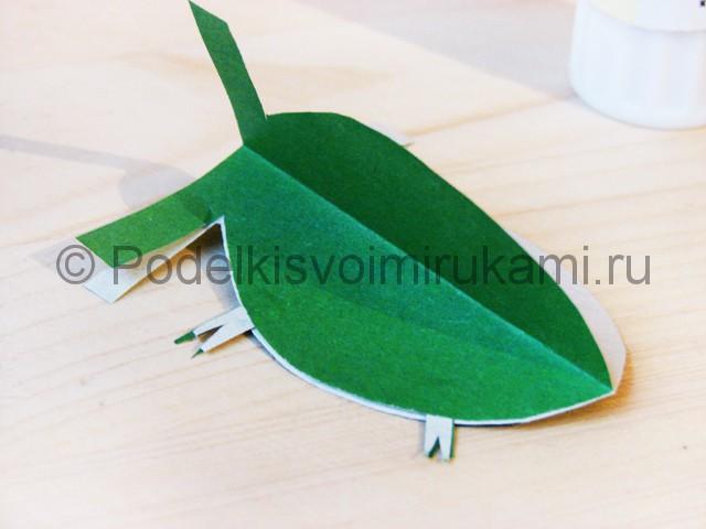 Изготовление кактуса из бумаги - фото 18.