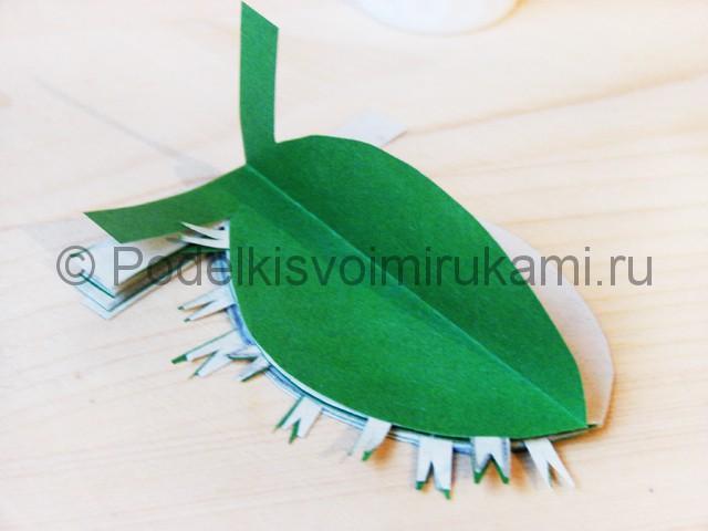 Изготовление кактуса из бумаги - фото 19.