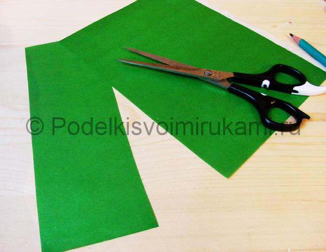 Изготовление кактуса из бумаги - фото 2.