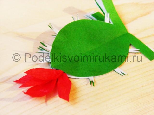 Изготовление кактуса из бумаги - фото 20.