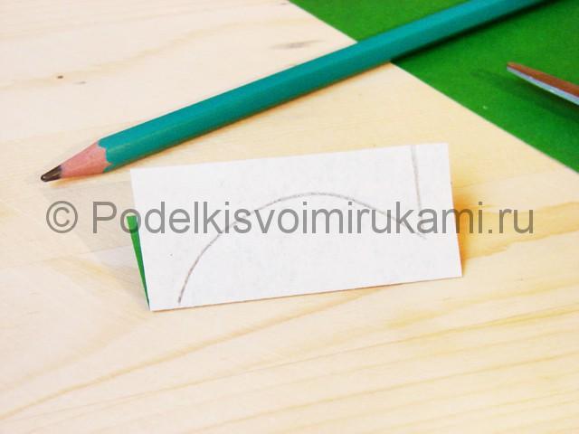 Изготовление кактуса из бумаги - фото 4.