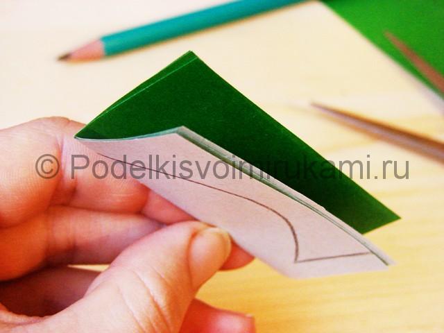 Изготовление кактуса из бумаги - фото 5.