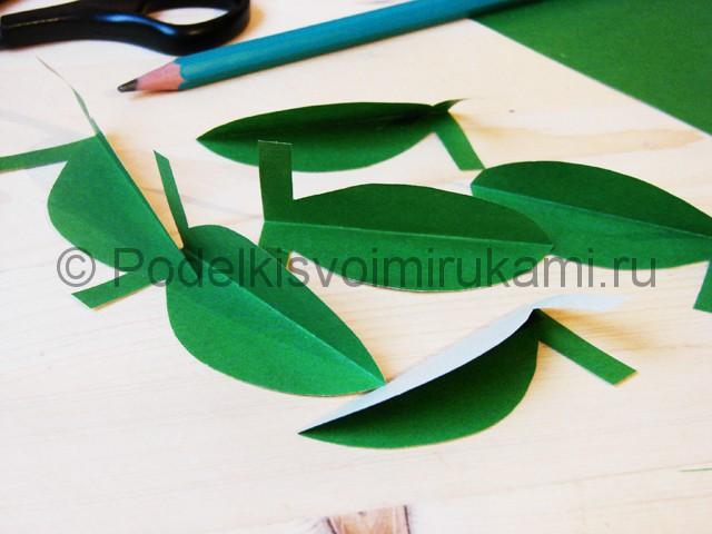 Изготовление кактуса из бумаги - фото 6.