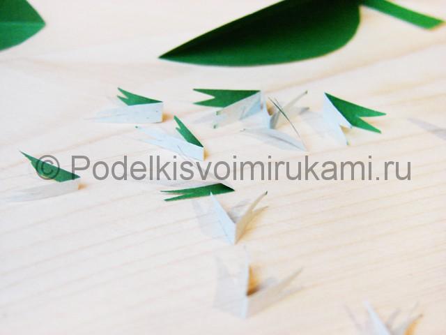 Изготовление кактуса из бумаги - фото 9.