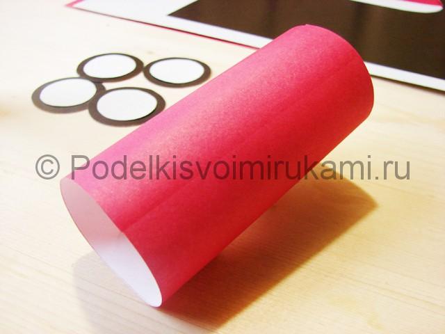 Изготовление машины из бумаги - фото 14.