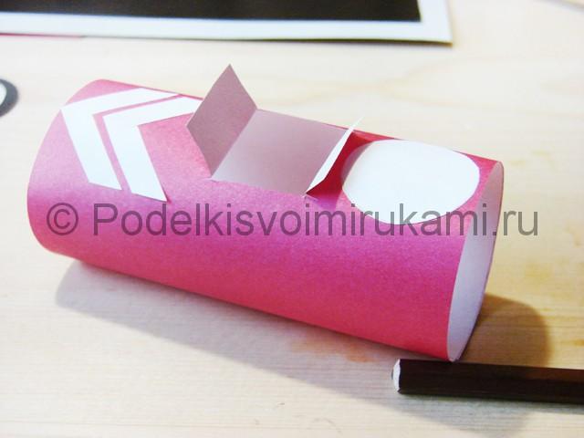 Изготовление машины из бумаги - фото 15.
