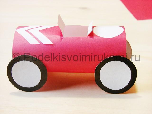 Изготовление машины из бумаги - фото 18.