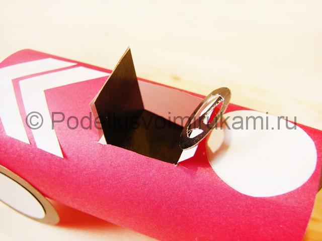 Изготовление машины из бумаги - фото 22.