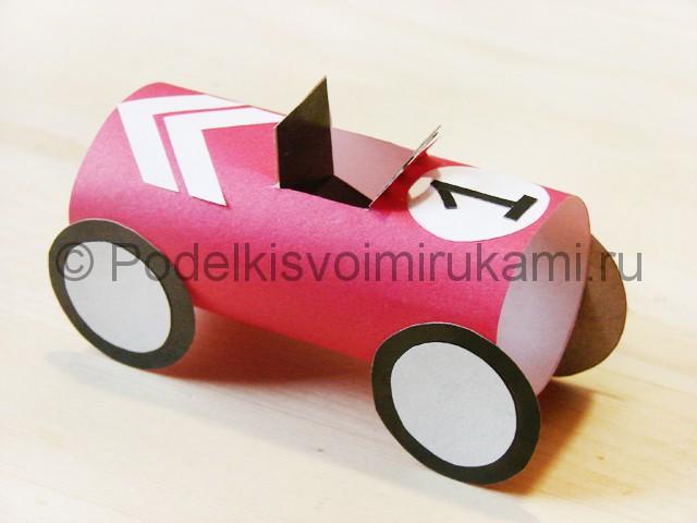 Изготовление машины из бумаги - фото 26.