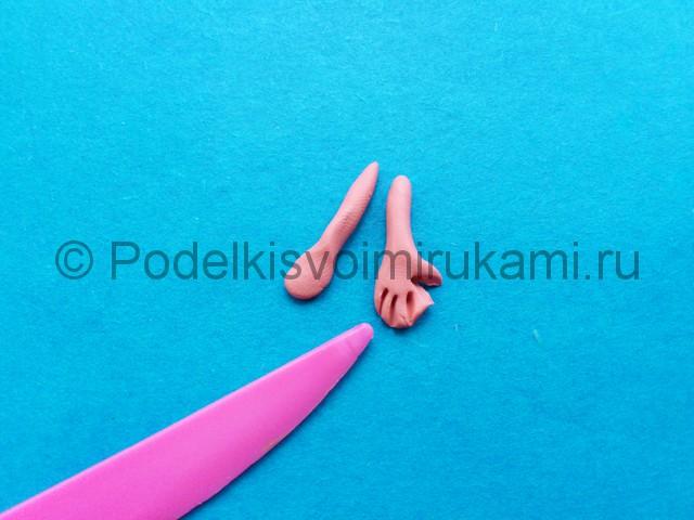 Лепка фунтика из пластилина - фото 13.