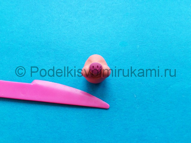 Лепка фунтика из пластилина - фото 4.