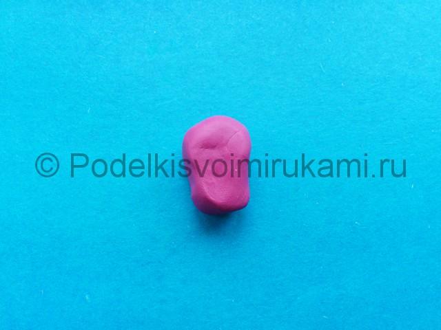 Лепка фунтика из пластилина - фото 7.