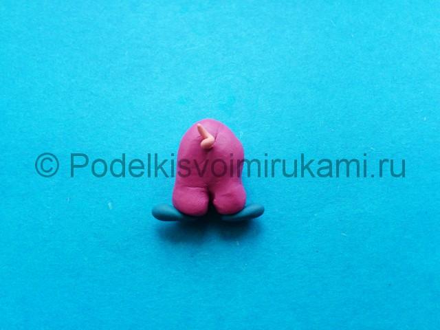 Лепка фунтика из пластилина - фото 9.