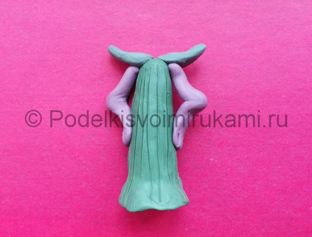 Лепка кощея бессмертного из пластилина - фото 10.
