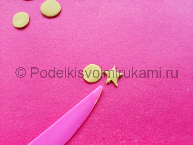 Лепка созвездия из пластилина - фото 4.