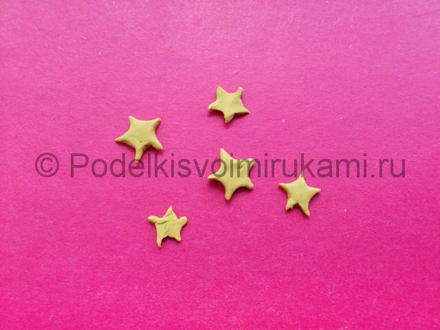 Лепка созвездия из пластилина - фото 5.