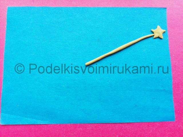 Лепка созвездия из пластилина - фото 6.