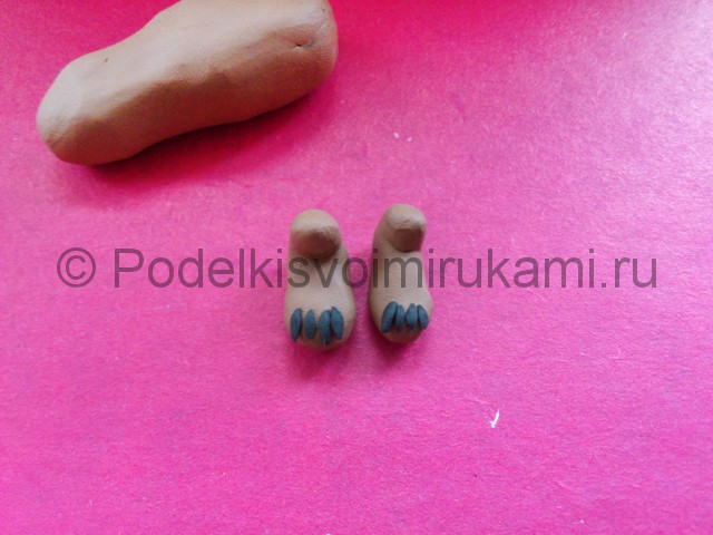 Лепка утконоса из пластилина - фото 3.