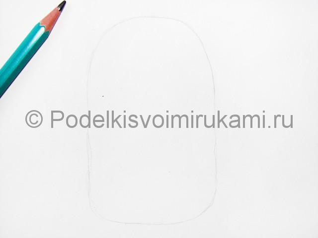 Рисуем миньона цветными карандашами - фото 2.