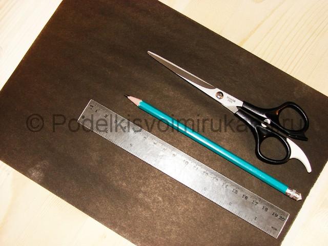 Изготовление ножа из бумаги - фото 1.