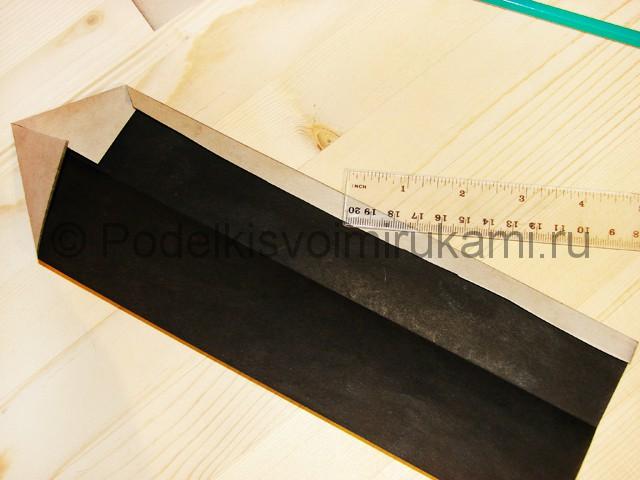 Изготовление ножа из бумаги - фото 11.