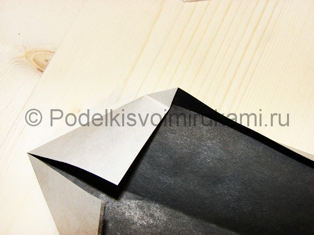 Изготовление ножа из бумаги - фото 12.