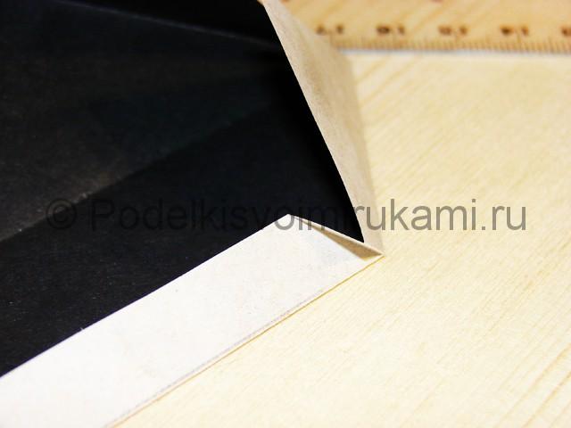 Изготовление ножа из бумаги - фото 13.