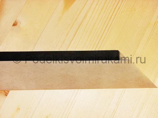 Изготовление ножа из бумаги - фото 15.
