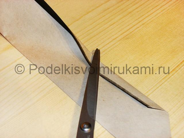 Изготовление ножа из бумаги - фото 16.