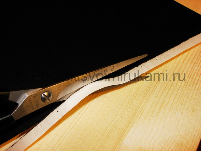 Изготовление ножа из бумаги - фото 2.